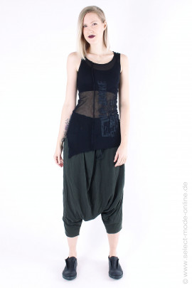 Tulle top - black Pal Offner - Onlineshop - 1801101106