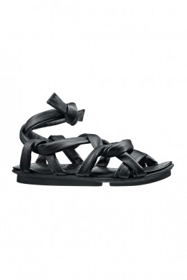 Leather sandals - black - Lust