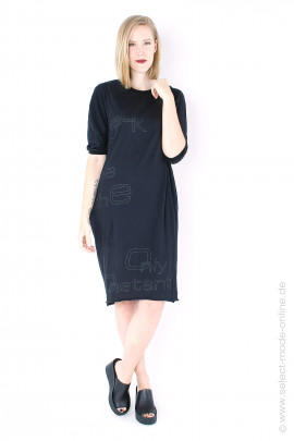 Tunic with open back - black