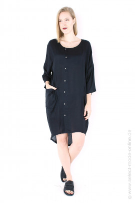 Long oversize blouse / coat - black