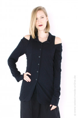 Jersey Blazer-Jacket - black