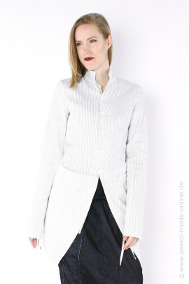 Frock coat with small stripes