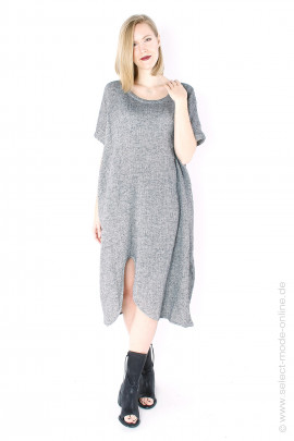 Oversize dress - grey melange