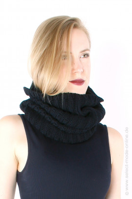 Knit loop - black