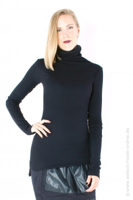 Longsleeve with turtleneck - black