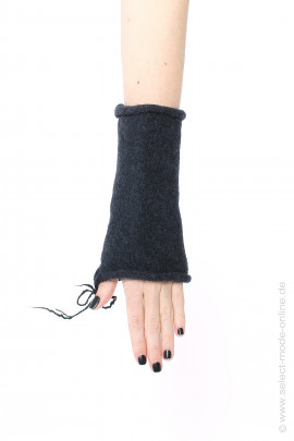 Knitted cuffs - anthra