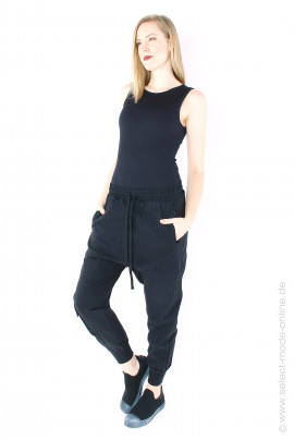 Super stretch pants - black
