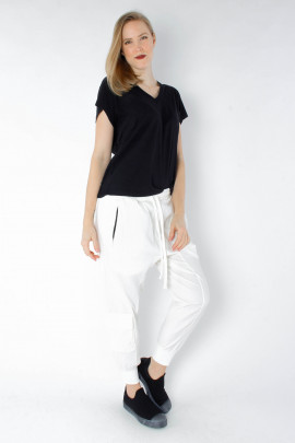 Super stretch pants - white