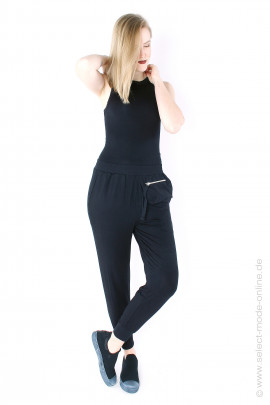 Jersey overall - black