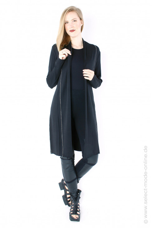 Light cardigan - black