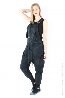Fancy Overall / Salopette - black