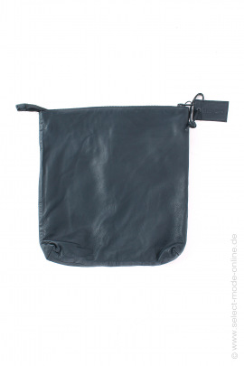 Small leather bag - black