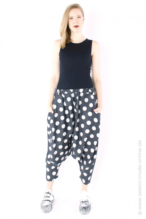 Pants with dots
