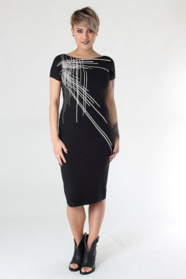 Narrow dress VE590 isabel de pedro