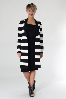 Cardigan with stripes isabel de pedro