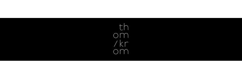 thom/krom online shop - Winter collection 2019