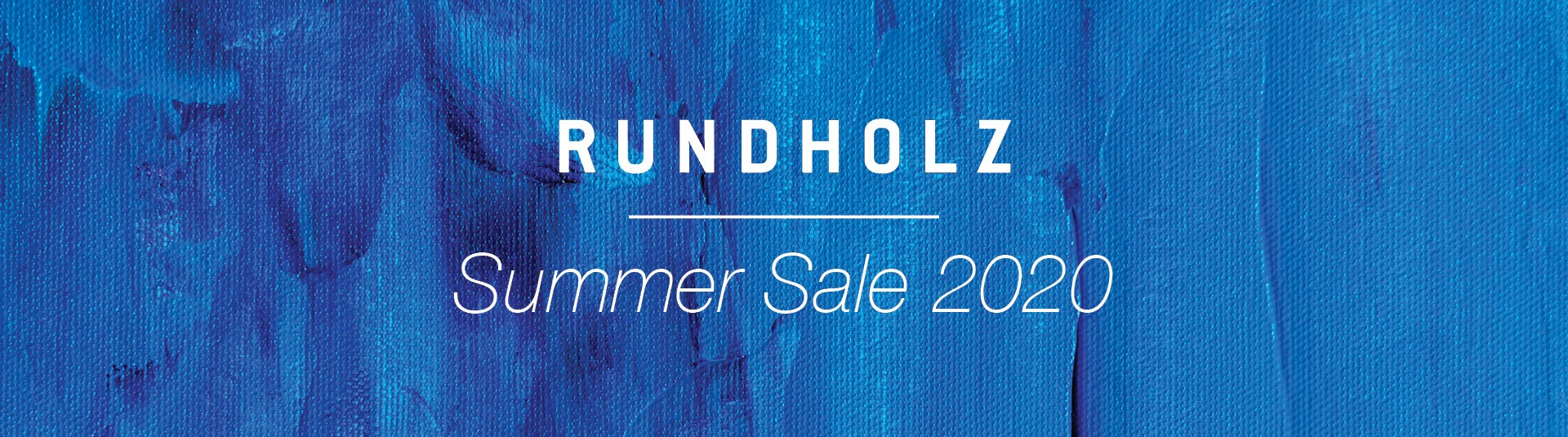 Rundholz Summer Sale 2020